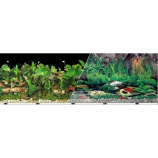 Blue Ribbon Pet Products - Background Double - Sided Tropical Freshwater - 12In X 50Ft