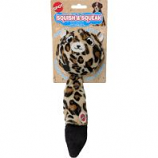 Ethical Dog -Squish & Squeak Leopard - Assorted - 10 Inch