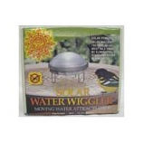 Allied Precision  - Solar Water Wiggler For Bird Bath - Silver - 3 X 6.75 Inch