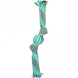 Ethical Dog - Colorful Rope Squeaker Ball