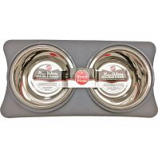 Ethical Ss Dishes -New Wave Double Diner - Gray - 1 Quart
