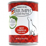 Triumph Pet - Triumph Canned Dog Food - Beef - 13.2 oz