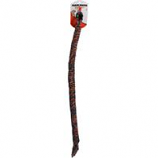 Mammoth Pet Products - Flossy Chews Snakebiter Color Rope Dog Toy - Multicolored -   34 Inch / Medium