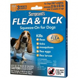 Sergeants Pet Products - Squeeze-On Dog - Over 33 Lb