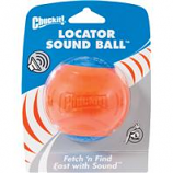 Canine Hardware - Chuckit! Locator Sound Ball - Blue / Orange - Large