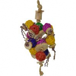 A&E Cage Company  - Happy Beaks Ball Thing Bird Toy - Assorted