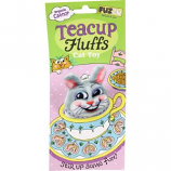 Fuzzu - Bunny Tea Cup Fluffs Series Catnip Toy - Gray - Medium