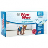 Four Paws - Wee Wee Diaper Garment Pads - White