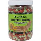 Flukers - Buffet Blend Adult Bearded Dragon - Veggie Variety - 7  oz