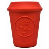 SodaPup - MKB Coffee Cup Treat Dispenser - Medium - Red
