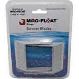 Gulfstream Tropical Aquar - Scraper Blades For Glass Aquariums - Gray - Lg/Xl/2 Pk