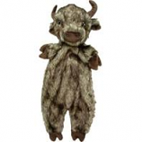 Ethical Dog - Plush Furzz Buffalo - Brown - 13.5 In
