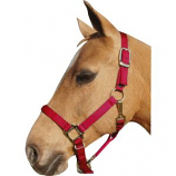 Horse And Livestock Prime - Premium Halter Chin With Snap - Red - Average