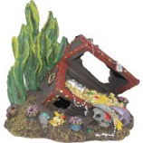 Blue Ribbon Pet Products -Exotic Environments Sunken Treasure Chest - Small