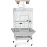Prevue Pet Products - Signature Series Select Wrought Iron Cage - Pewter - 24 X 20 X 60 Inch