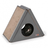 K&H Pet Products - Creative Kitty A - Frame Playhouse - Brown - 23X12X18