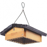 Natures Way Bird Products - Upside-Down Suet Feeder - Cedar - 2 Cake Capacity