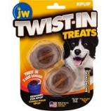 Jw - Dog/Cat -Jw Twist-In Treats - Bacon - 2 Pack