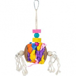 Prevue Pet Products - Prevue Accordian Crinkle Bird Toy - Assorted -  Assorted