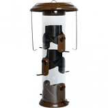 Natures Way Bird Products - Nature S Way Deluxe Wide Funnel Flip Top Feeder - 16.5X8X8 Inch