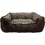 Ethical Fashion - Seasonal - Sleep Zone Cheetah Step In Bed - Cheetah - 25 Inch