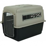 Petmate - Carriers - Ultra Vari Kennel - Taupe / Black - 36 Inch