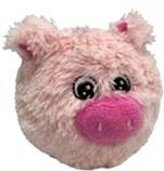 Petlou - EZ Squeaky Pig Ball - 5 Inch