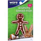 Ware Manufacturing - Bird / Small Animal - Critter Ware Krunchy Bread Man - Natural