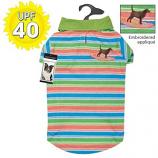 Casual Canine - Hawaiian Breeze Polo - Medium