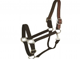 Horse And Livestock Prime - Halter Leather Crown Econ - Black - Large