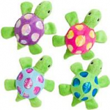 Ethical Cat - Shimmer Glimmer Turtle W/Catnip Cat Toy - Asst - 4In