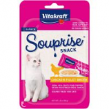 Vitakraft Pet - Souprise Broth Cat Treat - Chicken - 4 Pack