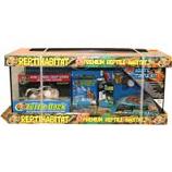 Zoo Med Laboratories - Reptihabitat Aquatic Turtle Kit - Black - 20 Gallon