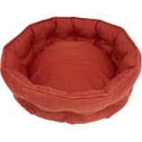 Petmate - Beds -La-Z-Boy Ginger Cuddler - Paprika - 22 X 8