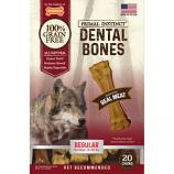 Nylabone - Primal Instinct Dental Bones - Meat - Regular/20 Count