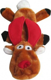 Iconic Pet Christmas - Christmas Reindeer Flat Toy - 13 Inch