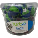Coastal Pet Products -Turbo Beach Balls Cat Toy Canister - Multi - 36 Piece