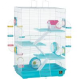 Prevue Pet Products - Prevue Hamster Playhouse - Blue/White
