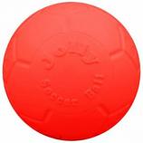 Jolly Pets - Jolly Soccer Ball - Orange - 6 Inch