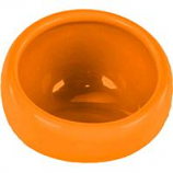 Ware Manufacturing  Bird / Small Animal - Eye Bowl Ceramic - Orange - Medium
