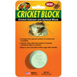 Zoo Med - Cricket Block Cricket Calcium And Gutload Block - 5 oz