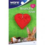 Ware - Bird/Sm An -Critter Ware Krunchy Love -Red