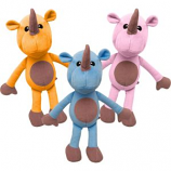 SnugArooz - Robbie The Rhino Plush Toy - Assorted - 14 Inch