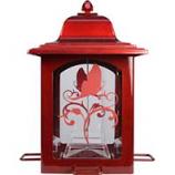 Woodstream Wildbird - Lantern Bird Feeder - Red - 3 Pound