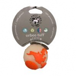 Planet Dog -Usa Globe Ball Floating Orbee Dog Toy - Mint - 2.25 Inch
