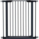 Midwest Homes For Pets - Steel/Wood Pet Gate - Graphite/Wood - 39 H X 29-38 W
