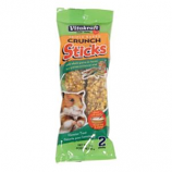 Vitakraft Pet Products - Crunch Sticks Honey Flavored With Yogurt - Hamster - Grain/Honey - 3  oz/2 Pack