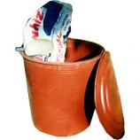 Tuff Stuff Products - Storage Drum Lid Only  - Black  - Round
