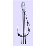 Horse And Livestock Prime - Lunge Whip With 6 Foot Drop - Assorted - 5.5 Feet