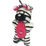 Charming Pet Products - Peek - A - Boo Zebra Dog Toy - Multi - Med/9 Inch